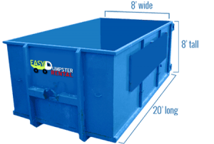 xl dumpster - easy dumpster rental